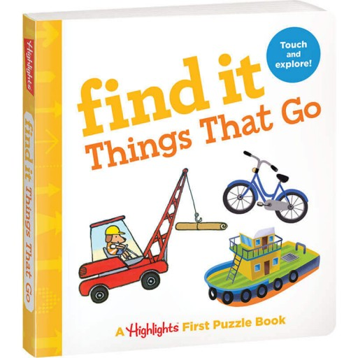 Find It Board Book: Things That Go