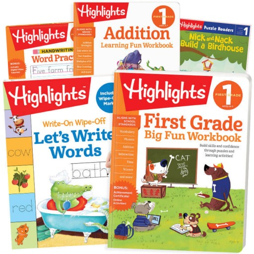 Back-to-School Success Pack, First Grade with 5 books