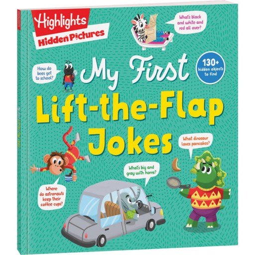 Hidden Pictures My First Lift-the-Flap Jokes book