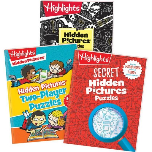 Extra-Special Hidden Pictures Puzzles 3-Book Set
