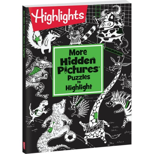 More Hidden Pictures Puzzles to Highlight paperback book
