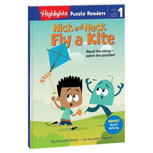 Highlights Puzzle Readers: Nick and Nack Fly a Kite book