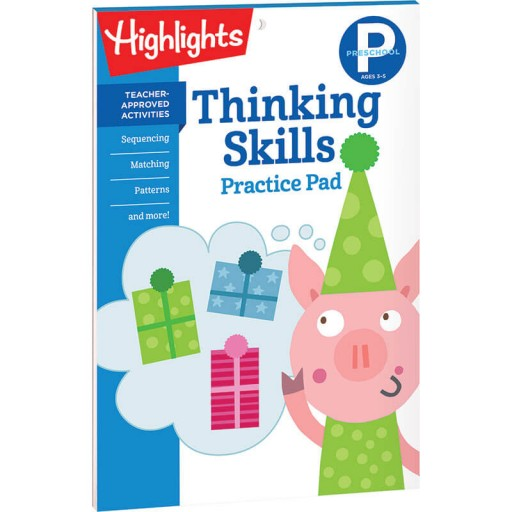 Thinking Skills Practice Pad for Preschool