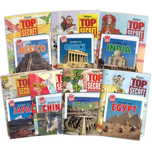 Top Secret Adventures: Ancient Civilizations Collection, includes 7 country kits