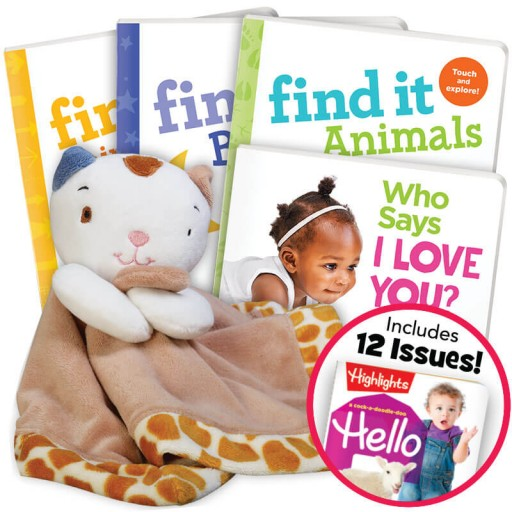 Deluxe Valentine's Gift Set for Ages 0 and up with magazine subscription