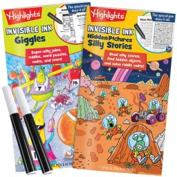 Highlights Invisible Ink Books: Giggles and Silly Stories