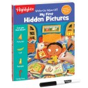 Write-On Wipe-Off My First Hidden Pictures book and dry erase marker