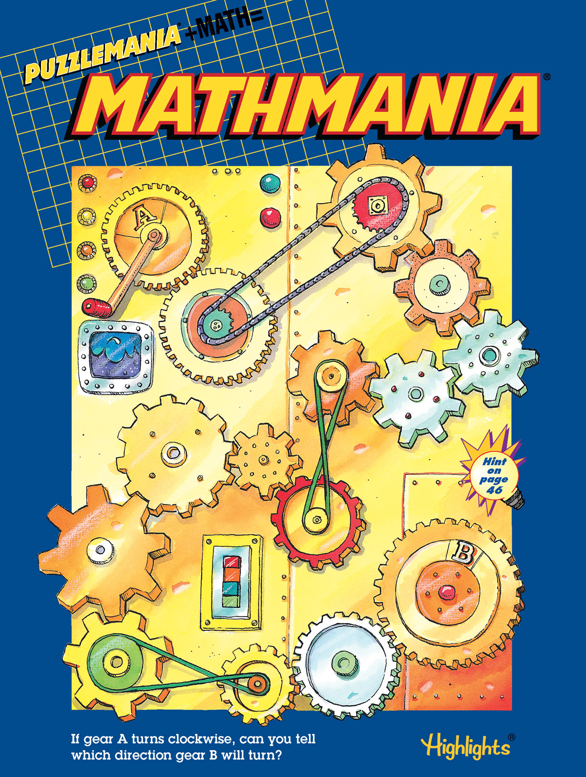 Kids Maths Book Cover : Math puzzles for kids books mathmania