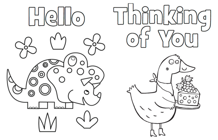 Printable Coloring Cards | Highlights for Children