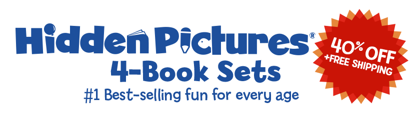 Hidden Pictures 4-Book Sets Now 40% Off!