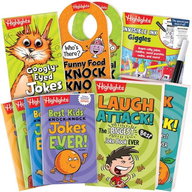 Highlights Jokes and Riddles Gift Set