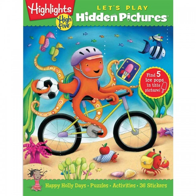 Let's Play Hidden Pictures book subscription from Highlights.